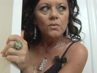 mature hot and ready swallows some darksome penis
