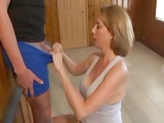 mature handjob with awesome ejaculation 5