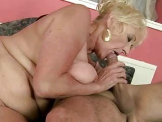 hot granny fucking with her trainer