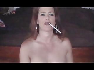 hawt babe smoking 848s and teasing (joi)