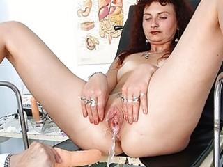 redhead milf twat checkup at perverted hospital