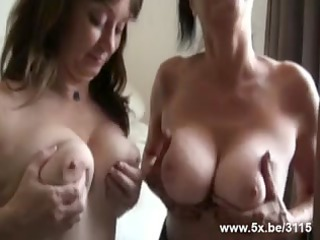 matures gangbanged by small in number rods
