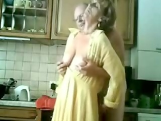 granny receives fingered by her old man